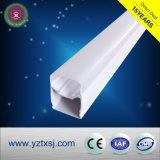La luz del tubo LED T5 de la vivienda de material de PVC