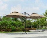 La aleación de aluminio Doble Ronda Superior Garden Roma paraguas
