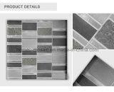 중국 솔 알루미늄 지구 유리제 돌 모자이크 타일 패턴