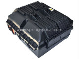Casella di distribuzione nera ottica della fibra della casella della fibra 24core CTO