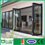 Australische Standardaluminiumbi-Falz-Tür mit preiswertem Preis
