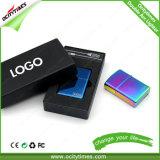 De in het groot Navulbare Aansteker van de Boog USB van het Metaal Dubbele in Kleuren Defferent