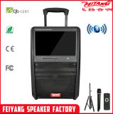 Tela LED Feiyang Speaker 12polegadas Altifalante Trolley com grande ecrã LED 15 F30