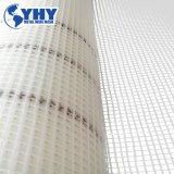 Tela semitransparente Tela de malla de fibra de vidrio se utiliza para materiales de piedra artificial