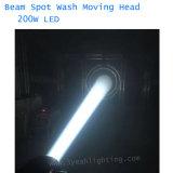 광속 이동하는 맨 위 빛 200W LED