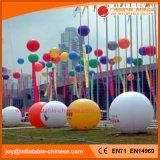 0.18mm подгонянный воздушный шар гелия PVC в небе для промотирования (B1-001A)