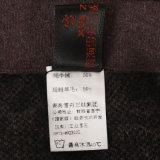 6060wowen Yak de lana y pantalones combinadas para el invierno