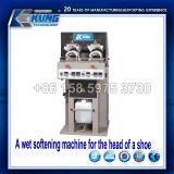 El deporte Steaming de la máquina de Vamp de la punta calza la cadena de producción