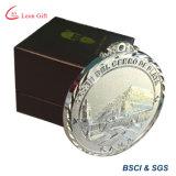 工場は最もよい価格の金属のきらめきのフェスタメダルをカスタマイズした