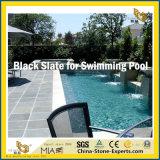 Tegel van de Lei van China de Goedkope Zwarte voor Zwembad
