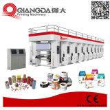 Multi stampatrice di carta ad alta velocità di rotocalco di imballaggio flessibile di colore
