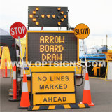 El LED parpadea Vehicle-Mounted direccional Optraffic placas flecha