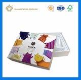 Custom роскошь матовая бумага косметическом салоне с внутренний пластиковый лоток