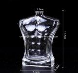 Frasco de vidro de perfume em forma de homem