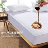 編まれたファブリックによって薄板にされるTPUはホテルまたは病院のためのマットレスの保護装置を防水する