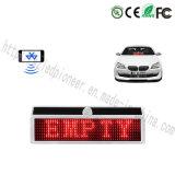 Mini LED segno Bluetooth LED dell'automobile di energia solare che fa pubblicità alla visualizzazione
