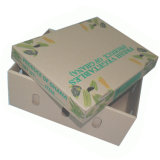 Коричневый большого размера упаковки бананов из гофрированного картона фрукты упаковки