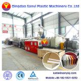 O WPC plástico do painel de piso Placa de espuma de PVC Folha de espuma de PVC linha de extrusão da linha de produção