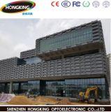 P15.625 Outdoor DEL transparente Rideau pour installation fixe d'affichage