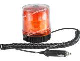 Super Bright Gyrophare stroboscopique de lumière à LED, rouge/orange clignotant magnétique de la lumière de la police