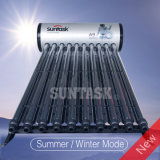放物線カーブの日光のコンセントレイタの統合された太陽熱湯
