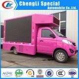 屋外P10移動式広告LEDスクリーンの/Vehicle/Van/Trailer/によって取付けられるトラックのLED表示