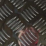 piatto di alluminio dello strato dell'ossequio Checkered 1050 1060 con cinque barre