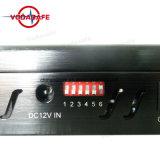 La señal de celular Jammer portátil cargador de coche con 6 bandas Blocker para 3G/4G teléfono móvil, WiFi, GPS, Lojack, portátil GPS móviles Jammer