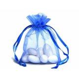 자주색 Organza 졸라매는 끈 선물 부대 또는 주문을 받아서 만들어진 Organza 선물 부대