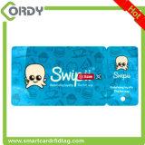 Broche de presión del sistema PVC de la lealtad de etiquetas dominantes combinadas cortadas con tintas de tarjeta