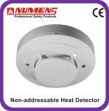Détecteur de chaleur d'alarme incendie conventionnel à 2 fils avec LED à distance (403-013)