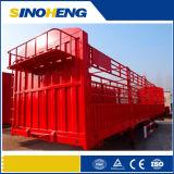 Бортовое Wall Container Semi Trailer для насыпного груза Transport