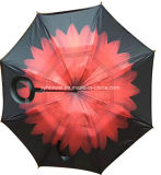 Magicbrella C Handle Umbrella UV Proof and Windproof Reverse Umbrella