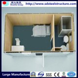Camera del contenitore per il campo di lavoro con la cucina e la toletta