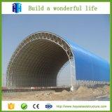 El edificio curvado de la estructura de acero se divierte el centro de formación