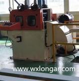 Máquina que raja de la bobina de acero de aluminio