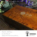 Rectángulo de empaquetado del té de madera de lujo de encargo del estilo chino de Hongdao para Sale_F