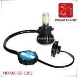 5202 farol especial 4000lm do diodo emissor de luz do farol Homa-G5 do diodo emissor de luz