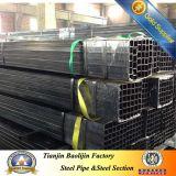 Conduttura d'acciaio quadrata saldata ERW delicata laminata a freddo nera del carbonio di S275 S355