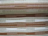 Estructura de tejido de yute y papel para la ventana rodillo/cortinas persianas y cortinas romanas persianas de rodillo de papel