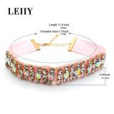 De elegante Multicolored Halsbanden van de Nauwsluitende halsketting van het Bergkristal van het Kristal voor Vrouwen