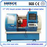 Legierungs-Rad-Reparatur-Diamant-Ausschnitt CNChorizontale CNC-Drehbank Awr2840PC