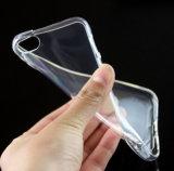中点が付いている落ちる極めて薄い反携帯電話透過TPUの箱カバーiPhone 5/5seのiPhone 6の6sケースのために