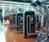 Fuerza comercial máquinas para ejercicios sentado fila MN-004