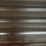 Alto acoplamiento acanalado galvanizado sumergido caliente del metal