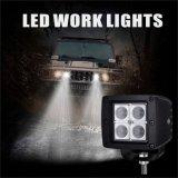 卸売価格! 公認12W LED作業ライト、トラックのための洪水のビーム