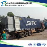 Fábrica de tratamento residencial da água de esgoto, 10-600tons/Day STP