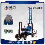 Venta caliente a 200m xy-200f la máquina de perforación de pozos de exploración del suelo