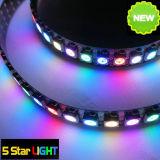 144 светодиодов/M цифровой индикатор Mulit-Color газа ws2811 WS2812