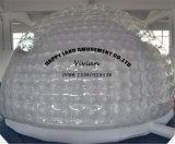 حرارة - يختم فقاعات خيمة قابل للنفخ واضحة